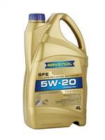 (акция 4+1) масло моторное синтетическое super fuel economy sfe sae 5w-20 5л