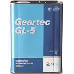 Масло трансмиссионное geartec 75w-90 gl-5 полусинтетичекое semi-synthetic (t) kr4l (старый номер l