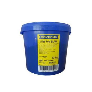 Смазка RAVENOL LKW Fett Blau (10кг) 4014835661776