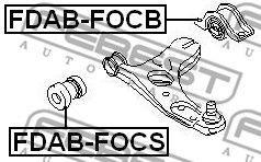 Сайлентблок рычага пер задний (ford focus i cak 1998-2005)
