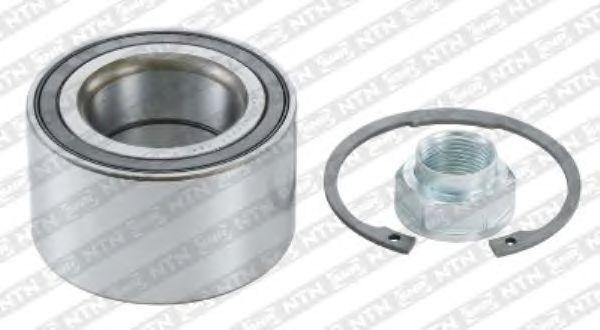 Рем. комплект ступицы колеса. содержит крепежные элементы и подшипник