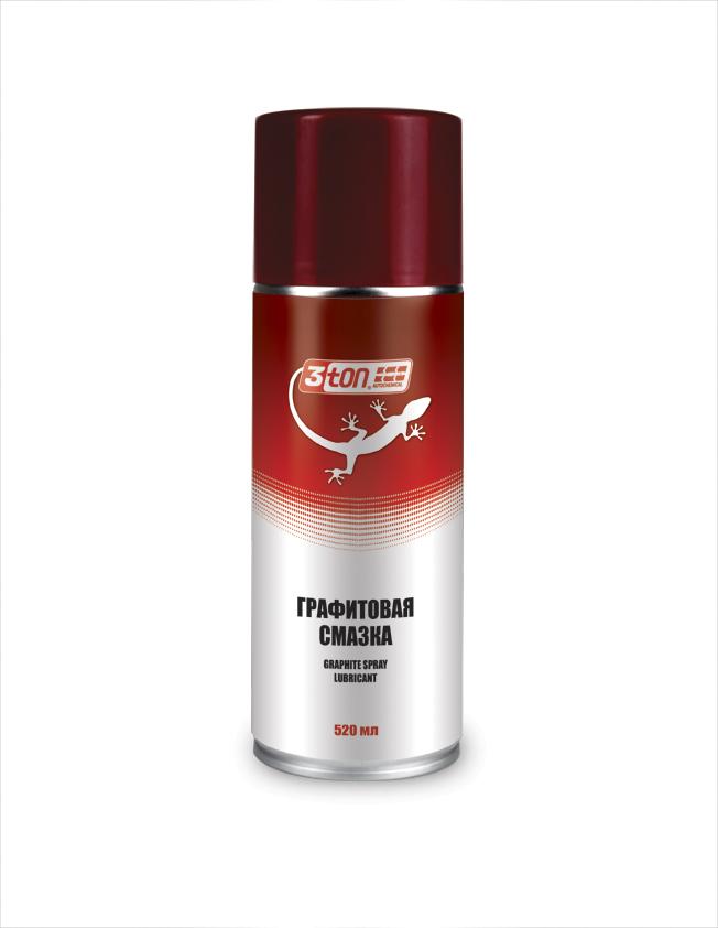 Смазка графитовая graphite spray lubricant 3ton аэ