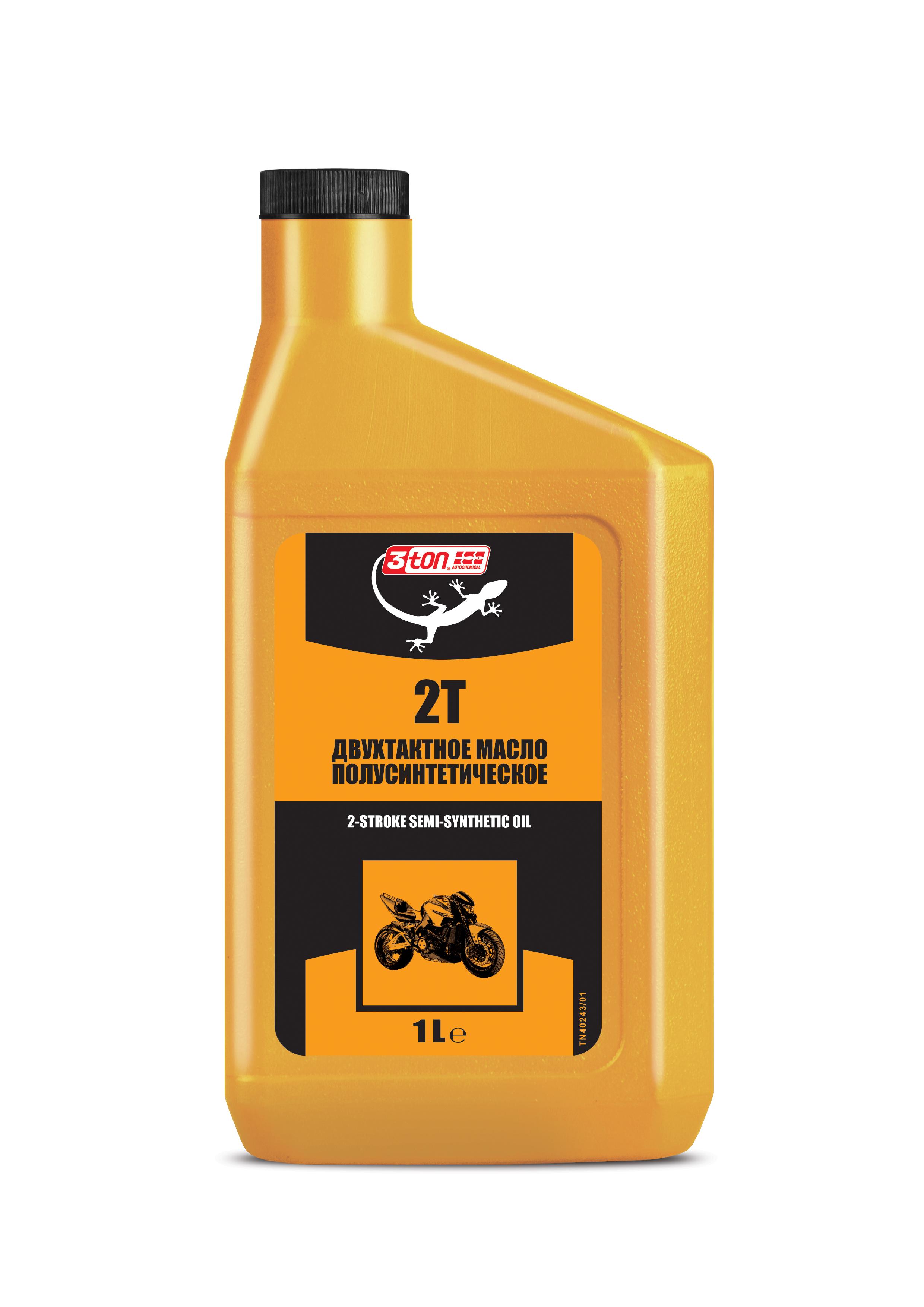Моторное масло для 2-такт 3ton super 2t (1л)