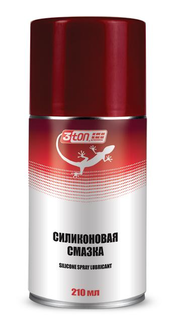 Силиконовая смазка silicone spray lubricant 0,210л12